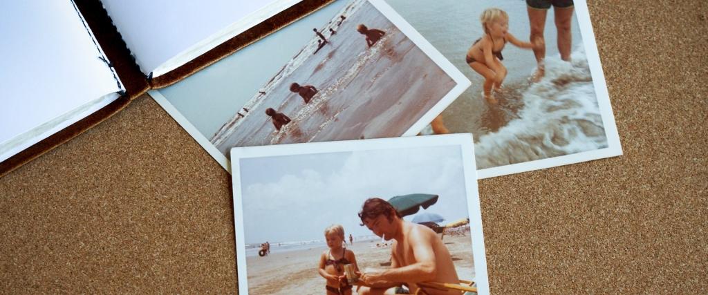 Polaroid-Fotos in der Biografiearbeit